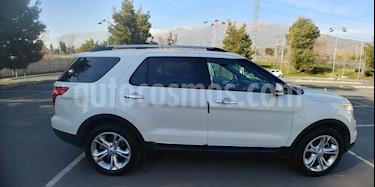 Ford Explorer 2.0L Ecoboost 4x2  usado (2015) color Blanco precio $15.800.000