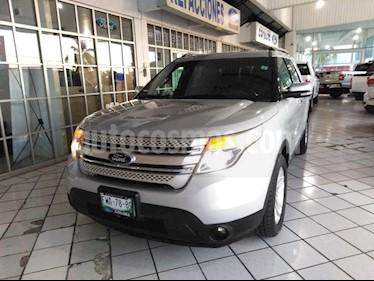 Foto venta Auto Seminuevo Ford Explorer 3.5 XLT V6 4X2 AT (2012) color Plata precio $275,000