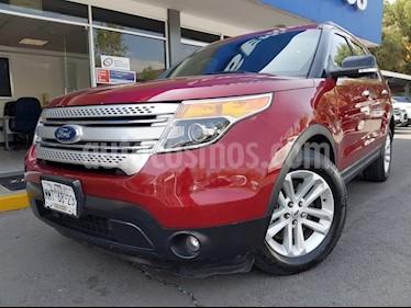 Foto venta Auto usado Ford Explorer 3.5 XLT V6 4X2 AT (2013) color Rojo precio $295,000