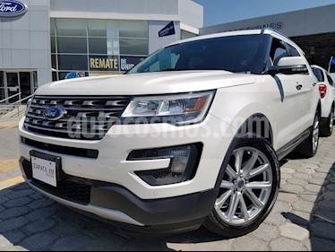 Foto venta Auto usado Ford Explorer 3.5 XLT V6 4X2 AT (2016) color Blanco precio $439,000