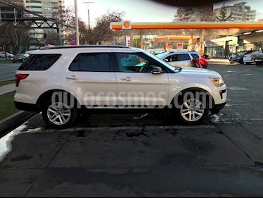 Ford Explorer 3.5L XLT 4x2  usado (2019) color Blanco precio $22.500.000