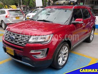 Foto venta Carro usado Ford Explorer 4.0 V6 4X4 Aut 5P (2017) color Rojo precio $117.900.000