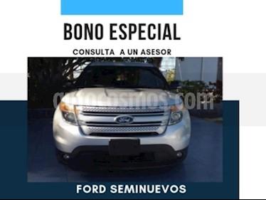 Foto venta Auto usado Ford Explorer 5 PTS. XLS, V6, TA (2014) color Plata Estelar precio $300,000