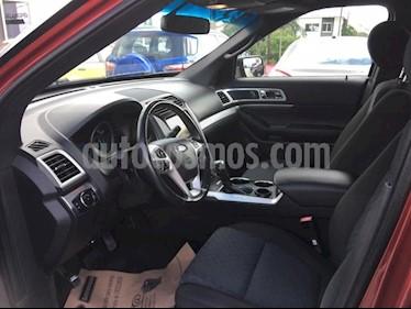 Foto venta Auto Seminuevo Ford Explorer 5 PTS. XLT, V6, TA, AE, 3ER. ASTO., SYNC (2013) color Rojo precio $290,000