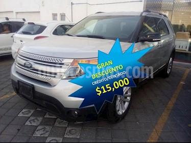 Foto venta Auto usado Ford Explorer 5 PTS. XLT, V6, TA, AE, 3ER. ASTO., SYNC (2015) color Plata precio $329,000