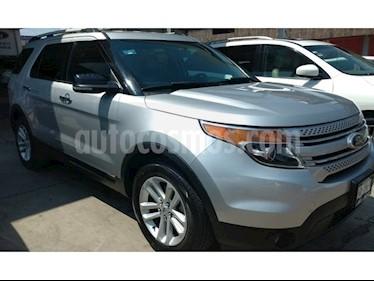 Foto venta Auto usado Ford Explorer 5 PTS. XLT, V6, TA (2013) color Plata Estelar precio $265,000