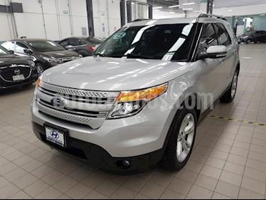 Foto venta Auto usado Ford Explorer 5p Limited V6/3.5 Aut (2015) color Plata precio $375,000