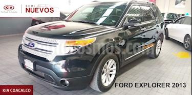 Foto venta Auto usado Ford Explorer 5p XLT V6/3.5 Aut Piel (2013) color Negro precio $289,000