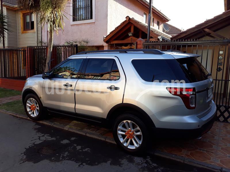 foto Ford Explorer 2.0L Ecoboost 4x2  usado (2014) color Gris Plata  precio $12.300.000