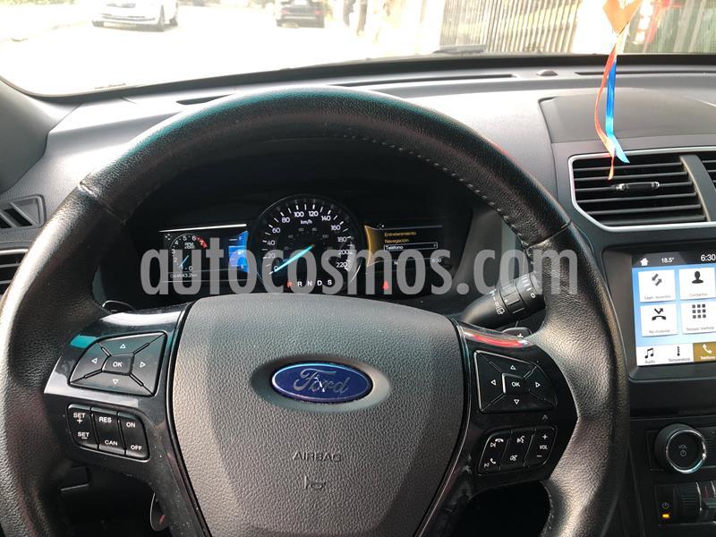 Ford Explorer 3.5L XLT 4x2  usado (2017) color Blanco precio $16.750.000