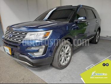 Ford Explorer Limited 4x4  usado (2017) color Azul precio $107.990.000