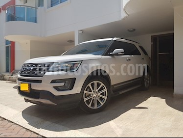 Ford Explorer Limited 4x4  usado (2017) color Blanco precio $52.620.000