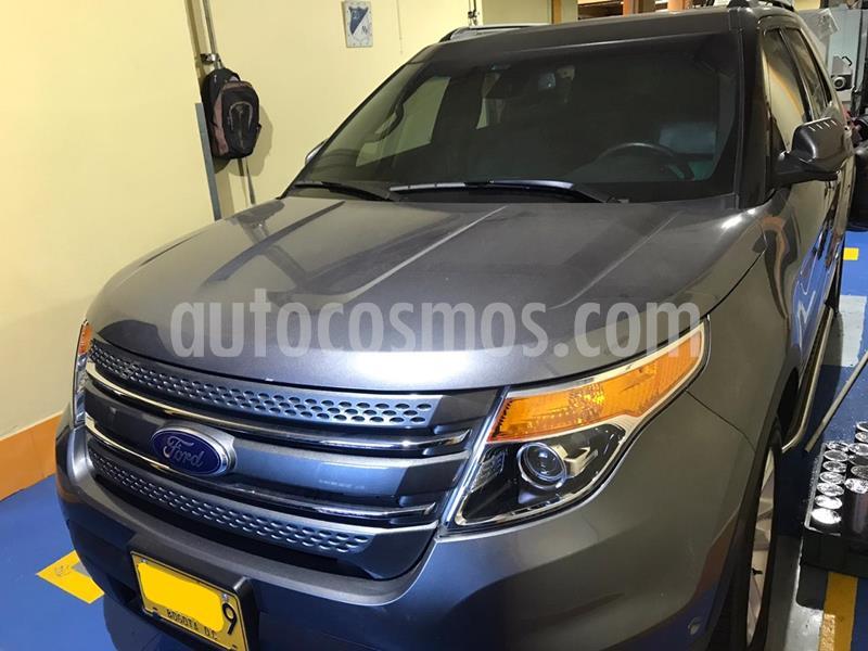 Ford Explorer Limited 4x4  usado (2014) color Gris Magnesio precio $80.900.000