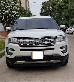 Ford Explorer Limited 4x4  usado (2017) color Blanco precio $75.000.000