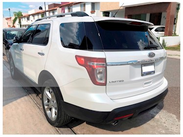 Ford Explorer Limited 4x2 3.6L  usado (2014) color Blanco Sueco precio $300,000