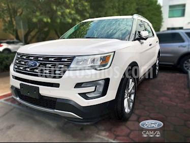 Foto venta Auto usado Ford Explorer Limited 4x2 3.6L  (2017) color Blanco precio $569,000