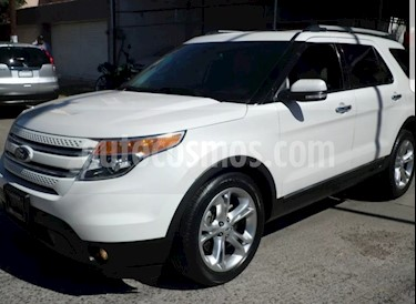 Ford Explorer Limited 4x2 3.6L  usado (2014) color Blanco precio $355,000