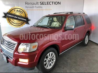 Foto venta Auto usado Ford Explorer Limited 4x2 4.0L (2010) color Rojo Fuego precio $178,000