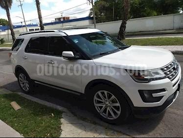 Foto venta Auto Seminuevo Ford Explorer Limited 4x2 (2016) color Blanco precio $475,000