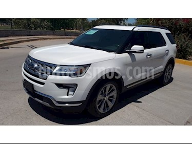 Foto venta Auto usado Ford Explorer Limited 4x2 (2018) color Blanco precio $596,000