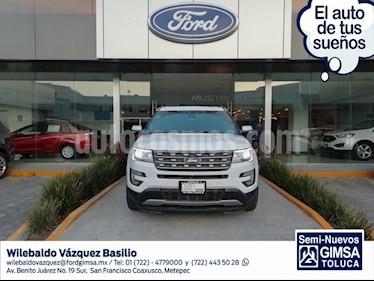 Foto venta Auto usado Ford Explorer LIMITED V6 4WD (2016) color Blanco precio $440,000