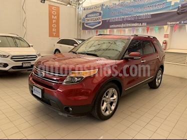 Foto Ford Explorer LIMITED V6 usado (2015) color Rojo precio $365,000