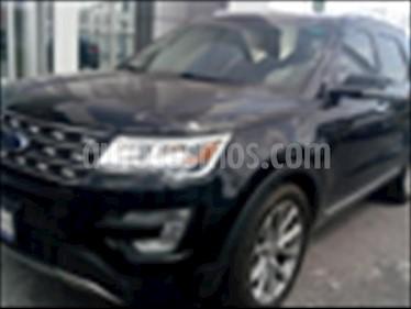 Foto venta Auto usado Ford Explorer LIMITED V6 (2017) color Negro precio $492,000