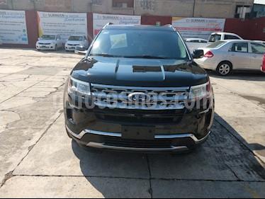 Foto venta Auto usado Ford Explorer Limited (2018) color Negro Profundo precio $698,000