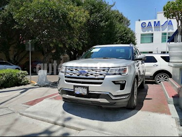 Foto venta Auto usado Ford Explorer Limited  (2018) color Plata precio $632,000