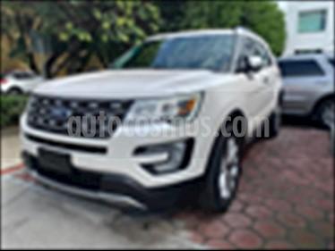Ford Explorer Limited  usado (2017) color Blanco precio $537,900