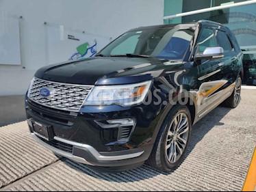 Ford Explorer 5p Platino V6/3.5 GTDI Aut usado (2018) color Negro precio $760,000