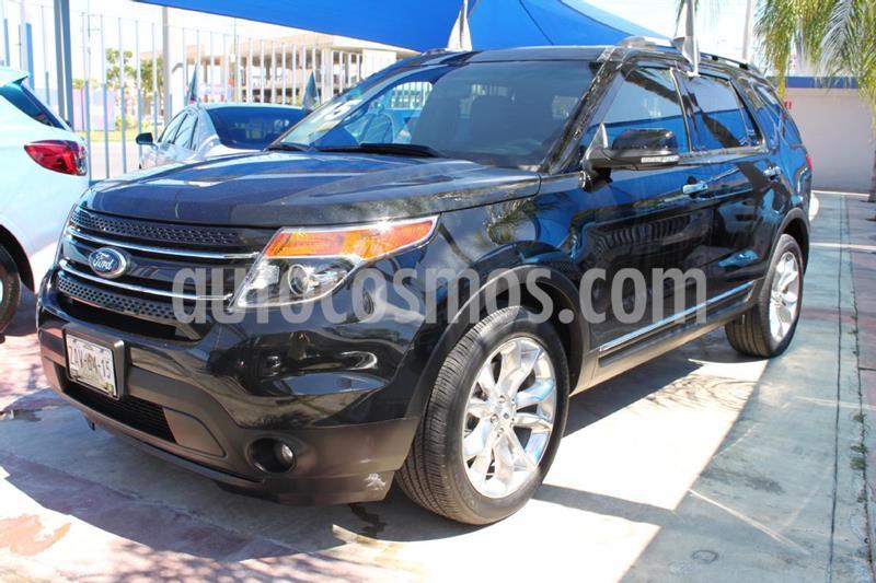 Ford Explorer Limited 4x4 3.6L  usado (2015) color Negro precio $410,000