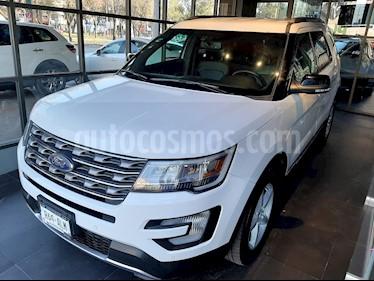 Ford Explorer XLT usado (2017) color Blanco precio $418,000