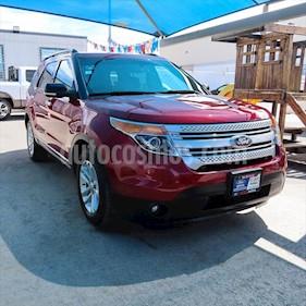 Ford Explorer XLT Tela usado (2014) color Rojo precio $263,000