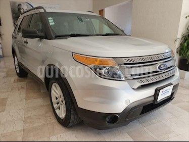 Ford Explorer XLT Tela usado (2014) color Plata precio $255,000