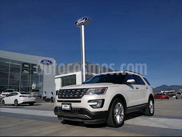 Ford Explorer LIMITED V6 4WD usado (2017) color Blanco precio $480,000