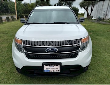 Ford Explorer XLT usado (2014) color Blanco Oxford precio $249,000