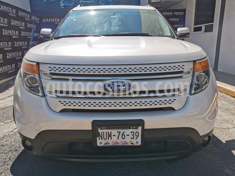 Foto Ford Explorer Limited usado (2015) color Blanco precio $320,000