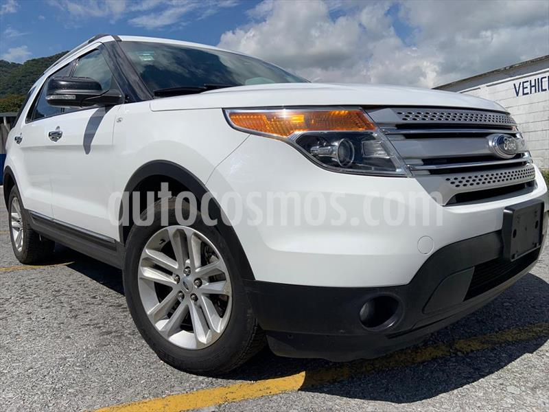Ford Explorer XLT Tela usado (2013) color Blanco precio $219,999