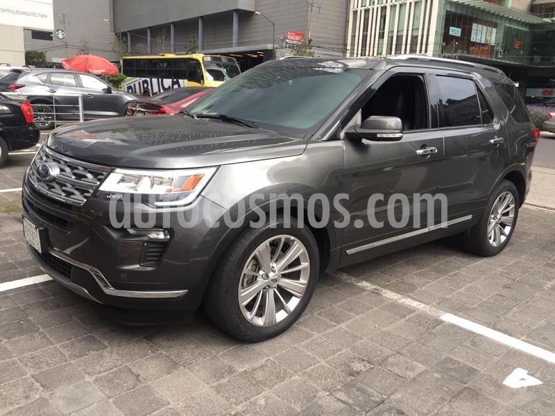 Ford Explorer Limited  usado (2019) color Gris Oscuro precio $590,000