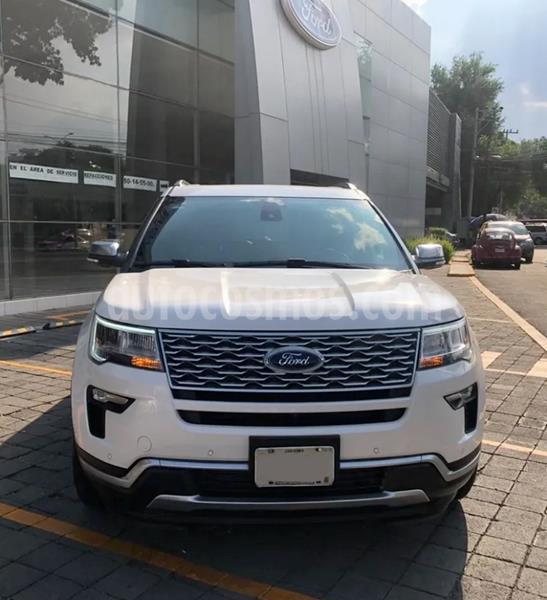 Ford Explorer Platinum 4x4 usado (2018) color Blanco precio $782,000