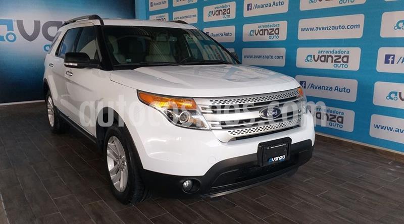 Ford Explorer XLT Piel usado (2014) color Blanco precio $280,000