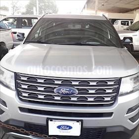 Ford Explorer XLT Piel usado (2016) color Plata precio $425,000