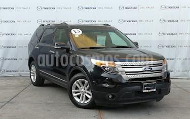 Ford Explorer XLT Piel usado (2013) color Negro Profundo precio $280,000