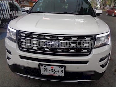 Ford Explorer LIMITED 4WD V6/3.5 AUT usado (2016) color Blanco precio $447,000