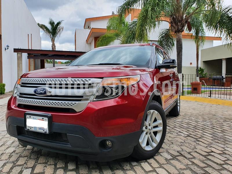 Ford Explorer XLT usado (2013) color Rojo precio $255,000