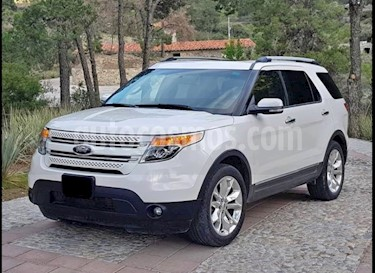 Ford Explorer Limited 4x4 3.6L  usado (2013) color Blanco Platinado precio $295,000