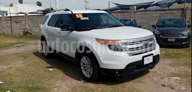 Ford Explorer XLT Tela usado (2015) color Blanco precio $265,000