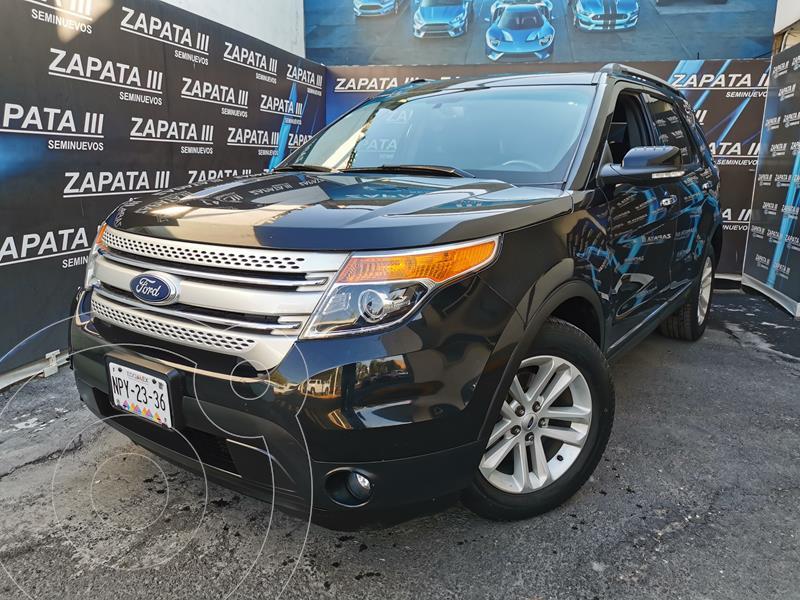 Ford Explorer XLT usado (2013) color Negro Profundo precio $235,000
