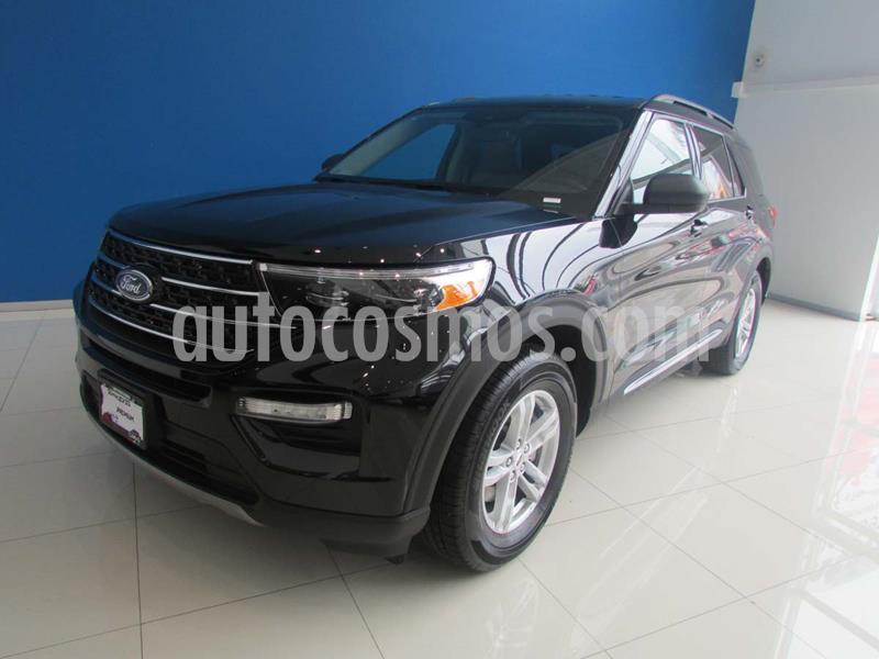 Ford Explorer XLT Piel usado (2020) color Negro precio $880,000